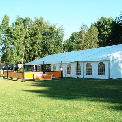 Vereinsfest mit 450m² Zelt